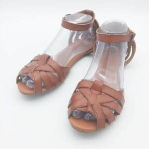Mossimo Supply Co Leather Sandals